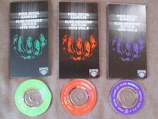 """Promo-Only! PURE METAL SAMPLER 1998 Vol.1~3 Lot of 3 JAPAN 3"""" CD SINGLES Free SH"""