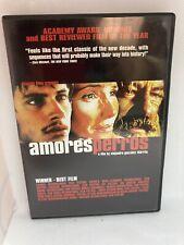Amores Perros (Dvd, 2001) Alejandro Gonzalez Inarritu Drama