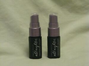 Urban Decay All Nighter Setting Spray Set of 2 Travel Size NEW