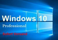 Microsoft Windows 10 Pro Vollversion 32/64 Bit Product-Key Win 10 Pro Lizenz