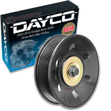 Dayco Drive Belt Idler Pulley for 2003-2010 Dodge Ram 3500 6.7L 5.9L L6 - cw
