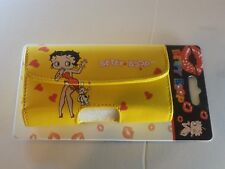Reiko Betty Boop Universal Horizontal Pouch Color Yellow H2.6 x W.5 x L 4.7 inc