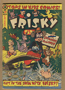 Frisky - #43 - Swimming Allowed!! - 1979 (Grade 3.0) WH