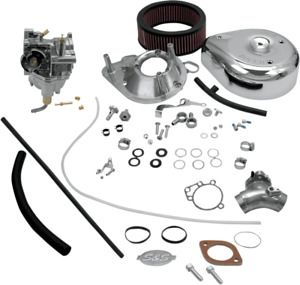S&S Twin Cam Super E Carburetor Kit 99-05 Harley Davidson Dyna Touring Softail