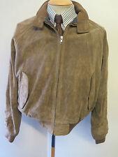 """Polo Ralph Lauren con cremallera de gamuza Harrington Jacket L 42-44"""" euro 52-54 - Brown"""