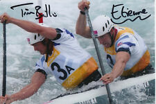 TIM BAILLIE AND ETIENNE STOTT HAND SIGNED GREAT BRITAIN 6X4 PHOTO 1.