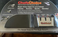 Chef's Choice Diamond Hone Knife Sharpener 436-3 New