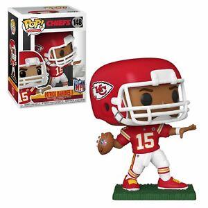 Funko POP! NFL Chiefs PATRICK MAHOMES II Red Jersey #148 Figure DAMAGE BOX