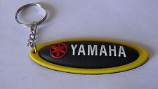 Portachiavi Yamaha R1 R6 TMAX YZF X-CITY FZ1 FAZER nuovo (giallo e nero)
