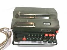 MACHINE A CALCULER FACIT VINTAGE 1940~
