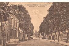 BELGIQUE BONSECOURS 25 grand'rue à l'entrée timbrée