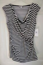 CHAUS STRIPED TOP, SIZE M