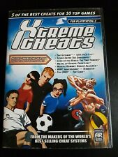XTREME CHEATS FOR PS2, DISC AND INSTRUCTION MANUAL CARD
