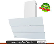 HAAG Cooker Hood Bravo White 6S 60cm! Glass! LED THIS WEEK Special 12 hoods only
