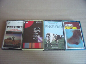 4 x Pink Floyd - Meddle, The Final Cut, Atom Heart Mother, A Collection Of Great