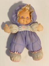 Fisher Price 90's Puffalump Kids Doll Plush Heidi Purple w/ Polka Dots Vintage