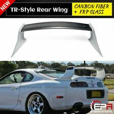 EPR for 93-98 Supra MK4 JZA80 TR-Style rear spoiler wing carbon fiber + frp kits