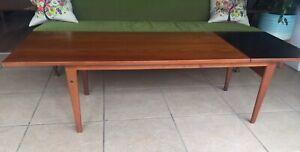 Danish Mid Century Grete Jalk  For Poul Jeppesens PJ56B Sliding Coffee Table
