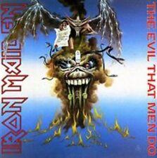"Iron Maiden The Evil That Men Do 7"" Single Vinyl 2014 Reissue 45rpm"