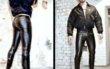 tight shiny faux leather trousers jeans similar to nasty pig. bluf gay fetish