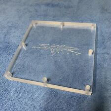 "Skar Audio 6"" X 6"" Plexiglass Viewing Window (3/4"") For Sub Box / Amp 3D Logo"