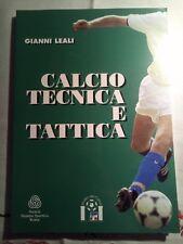 CALCIO TECNICA E TATTICA GIANNI LEALI 1997 SPORT