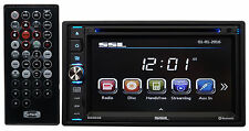 "Soundstorm DD665B Double DIN 6.5"" Car DVD/CD/AM/FM Player Receiver w/Bluetooth"