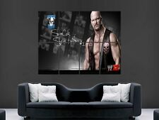 WWE John Bubuz Steve Austin Art Mur poster géant