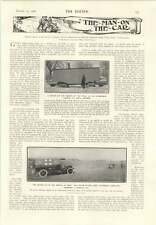 1906 Ice Locomotive On Spiral Runners U.s. Army Motor Ambulance