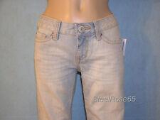 New Aeropostale Junior Girls Light Wash Hailey Skinny Flare Denim Jeans 00 R