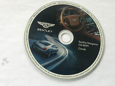 2004 2005 2006 Bentley Continental GT / Flying Spur Navigation CD Map CANADA