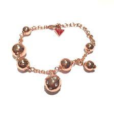 Guess Damen-Armband Metalllegierung gold 15 Zirkonia, 19 cm