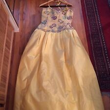 Ann Lawrence ballgown with beaded corset top, size 12