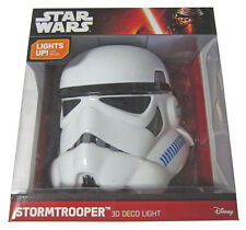 Brand New! Star Wars: Storm Trooper 3D FX Deco LED Wall Light Battery Powered