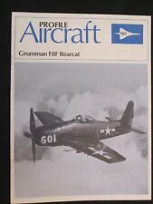 Aircraft Profile 107 Grumman F8F Bearcat - 12 pages, Color Profiles
