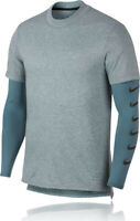 "Mens NIKE  ""RUN  DIVISION"" Rise 365  Long Sleeved Shirt    Medium  930224-468"