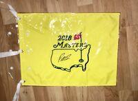 Patrick Reed Signed Autograph 2018 Masters Flag Champion JSA COA