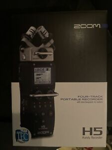 Zoom H5 Handy Portable Recorder+ Interchangeable Microphone System New In Box!!