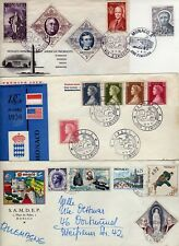 MONACO. 1956/57/82 3 FDC and 2 x others