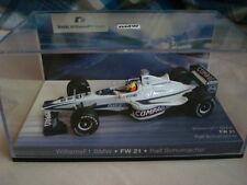 Minichamps F1 BMW WILLIAMS FW21 R. Schumacher 1/43 with Case