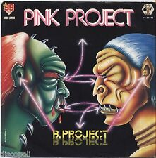"""PINK PROJECT - B. Project - VINYL 7"""" 45 ITALY 1983 NEAR MINT COVER VG+ CONDITION"""