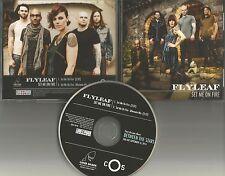 FLYLEAF Set me on fire w/ RARE ALTERNATE MIX PROMO DJ CD Single MINT USA 2014