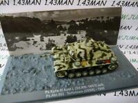 PZ4 véhicule militaire 1/72 PANZER Tank Pz Kpfw III Ausf.L SdKfz 141/1 1942 URSS