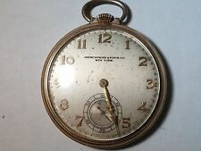 Hamilton 917, 17 Jewel, 14K GF, Abercrombie & Fitch Co NY, Needs cleaning/repair