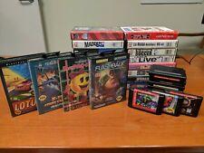 Sega Genesis Games, Lot of 30 games, Vectorman, Flashback, Pac-Man, NBA Jam More