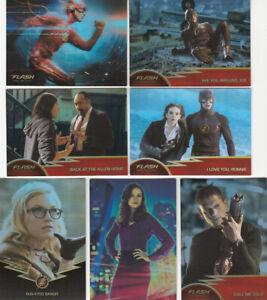 Flash Season 1 Complete Rainbow Raider Foil Set plus 3 insert sets (97 cards)