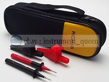 Soft Case+FLUKE Alligator Clips+Test Probe TP220 Use for T5-600,T5-1000 T5-KIT