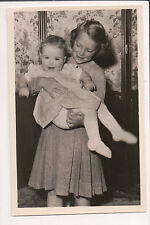 Vintage Postcard princess Irene & Princess Christina of the Netherlands