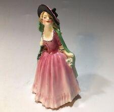 Cute! Royal Doulton Porcelain Figurine M68 Mirabel (Miniature)