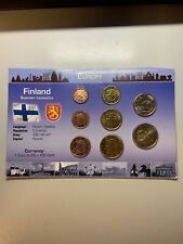 Finland 2010 UNC coin set from 1 cent - 2 euro total 8 coins